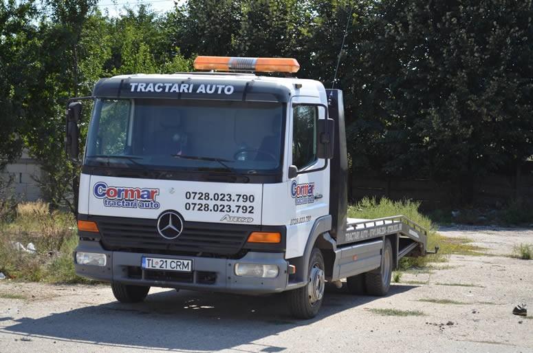 Vehicul tractari auto Cormar, Tulcea 21 CRM